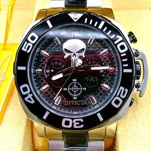 FIRM PRICE-INVICTA LIMITED MARVEL PUNISHER WATCH